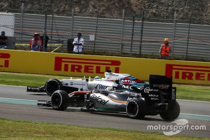 Perez também não conseguiu ultrapassar Felipe Massa
