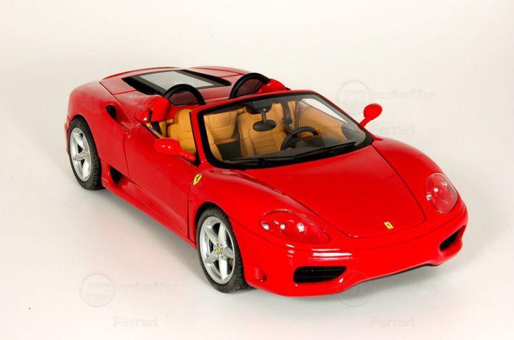 Modelcar Ferrari 360 Spider (1:18, Hot Wheels Elite)